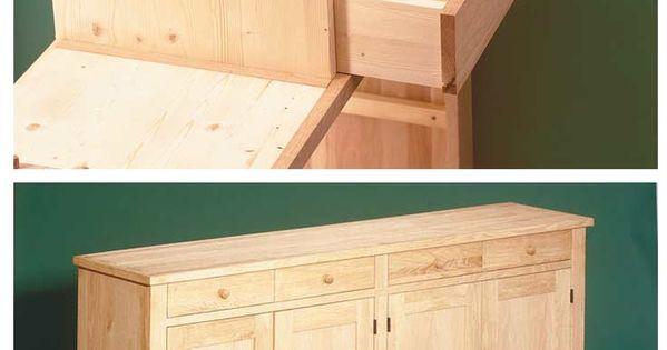 buffet schrank selber bauen woodworking buffet and woods. Black Bedroom Furniture Sets. Home Design Ideas