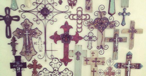 Cross Wall In Progress My Projects Pinterest Cross