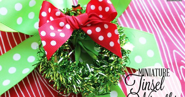 This time of year, many of us are on the lookout for fun Christmas crafts, but leta??s face it: Sometimes in the midst of the holiday hustle and bustle, time only