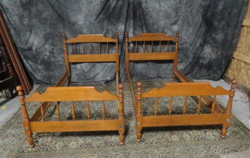 Ethan Allen Maple Twin Beds Ethan Allen Pinterest