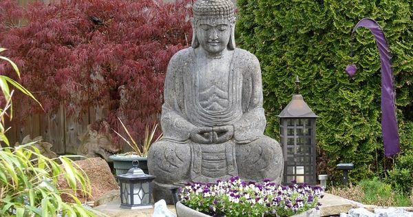 Image gratuite sur pixabay bouddha jardin sculpture for Conception jardin chinois