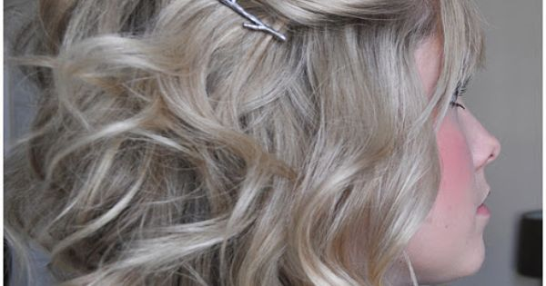 Love, Bobby pin quees! 40 ways for shoulder length hair - I