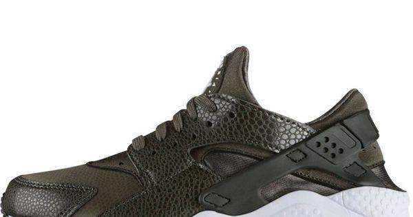 Nike Huarache Wit Paars