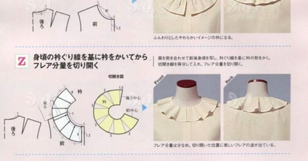 Stand Collar Blouse Designs Images : Types of ruffles pleats lady style № mid summer