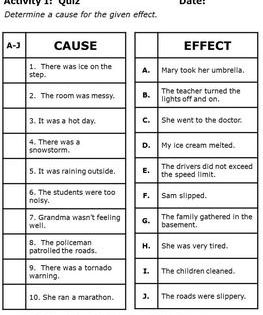 Pin By The Amazon Affiliate On Comprehension Cause And Effect Activities Cause And Effect Worksheets Cause And Effect