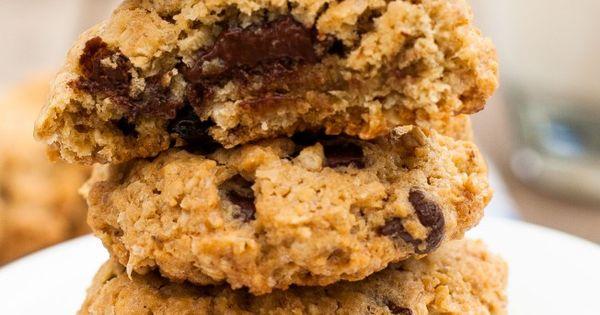 Sour Cherry and Dark Chocolate Granola Cookies | Granola Cookies ...