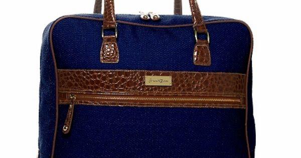 Samantha Brown Luggage Qvc: Samantha Brown Tweed Jumbo Tote