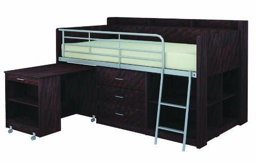 Best Low Loft Beds For Adults Storage Clairmont Loft Bed 400 x 300