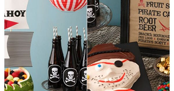 Full Pirate Birthday Plans
