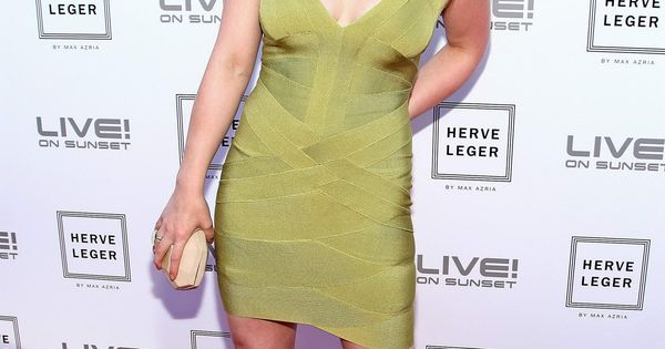 Hilary Duff Herve Leger By Max Azria Collection Launch Party