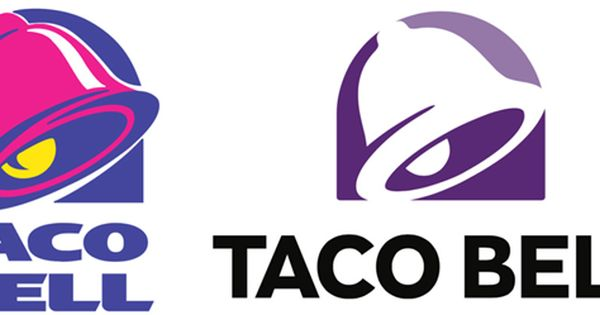 New Taco Bell Logo Imbues Far Cry Designmantic The Design Shop Logo Design Branding Identity Taco Bell Logo Logo Design