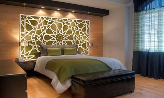 tete de lit orientale 2 d coration berb re pinterest bedrooms arabesque and bed room. Black Bedroom Furniture Sets. Home Design Ideas