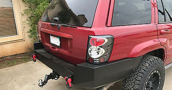 Jeep Grand Cherokee Wj Rear Steel Custom Bumper Jeep Grand Cherokee Jeep Wj Jeep Grand