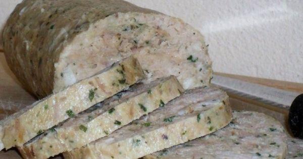 Le saucisson au thon est une recette qui �tonne mais qui ravit