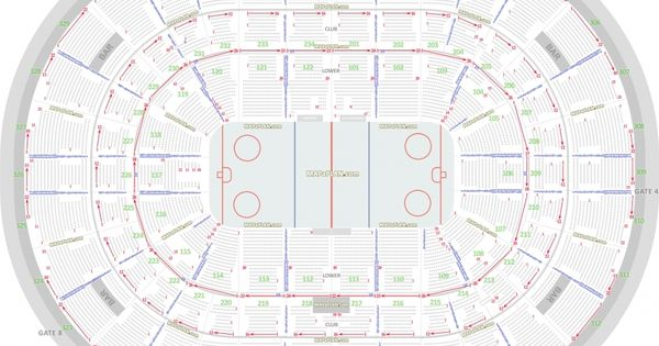 United Center Seating Chart With Seat Numbers Glasgow