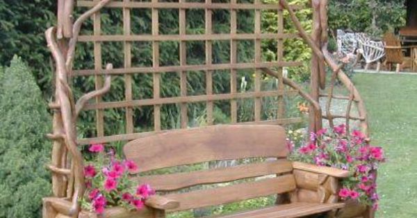Amazing For My Mother In Laws Cabin Garden Benches