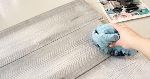 etape par tape pour vieillir un bois neuf vieillir neuve et meubles en bois peints. Black Bedroom Furniture Sets. Home Design Ideas