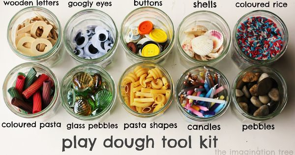 Building Fine Motor Skills: Play Dough Tool Kit Ideas