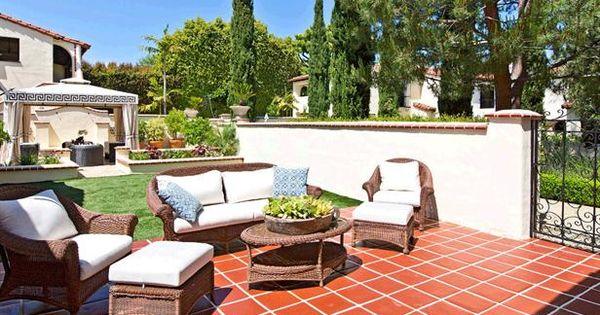 Spanish Style Patio Patio
