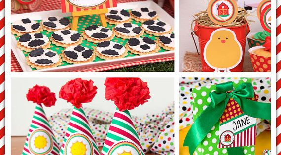 Farm birthday...$30 for all the printables!!! For one of Carson's birthday's, since