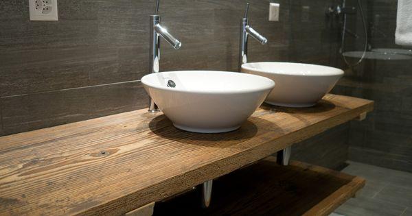 waschtisch aus altholz badezimmer pinterest altholz waschtisch und badezimmer. Black Bedroom Furniture Sets. Home Design Ideas