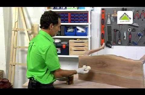 C mo restaurar muebles de madera leroy merlin el - Como arreglar puertas de madera rayadas ...