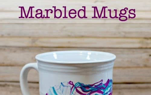 this diy nail polish marbled mugs craft is fun and easy to. Black Bedroom Furniture Sets. Home Design Ideas