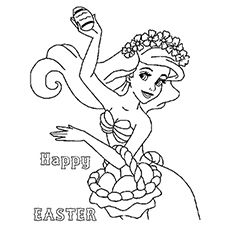 Top 10 Free Printable Disney Easter Coloring Pages Online Ariel Coloring Pages Spring Coloring Pages Easter Egg Coloring Pages