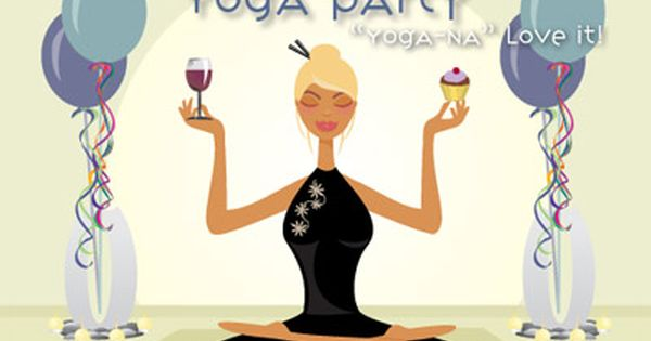 Ladies Night Out Yoga Theme Party Planning Ideas Supplies Partyideapros Com Yoga Party Yoga Themes Yoga Decor