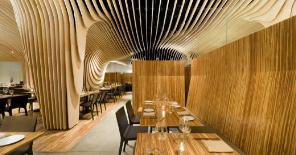 Banq Restaurant Interior Design in Boston by Office dA