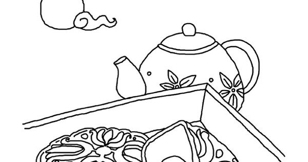 moon festival coloring pages - photo#25