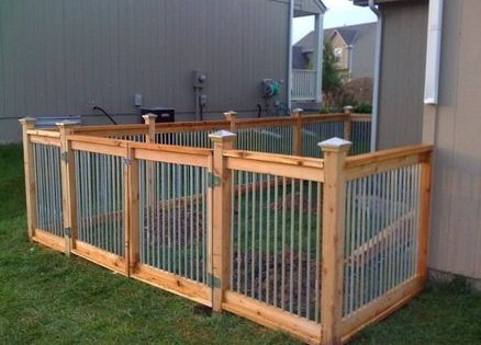 cedar and metal fence outdoor living pinterest metal fences and metals