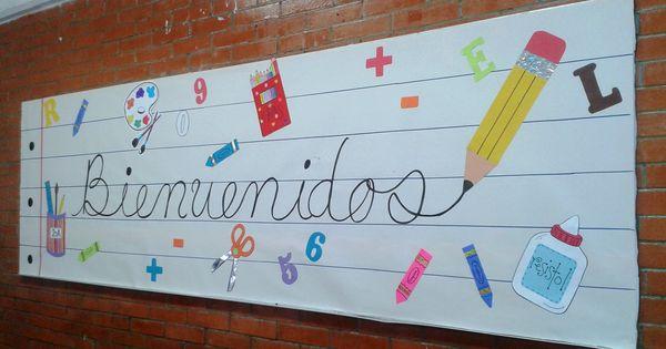 Periodico mural regreso a clases inicio ciclo escolar for Diario mural escolar