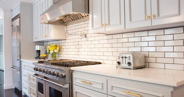 Best Light Gray Kitchen Cabinets With Gold Hardware 400 x 300