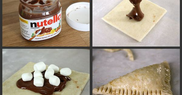 Nutella Marshmallow Turnovers! | Recipes | Pinterest | Pastries, Puff ...