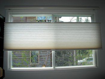 Pictures Of Bottom Up Outside Mount Shades Cellular Shades With