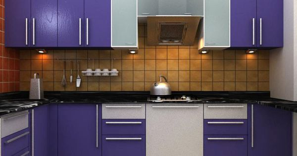 Ark wood work provide all kind of wood work services in for Wooden modular kitchen designs