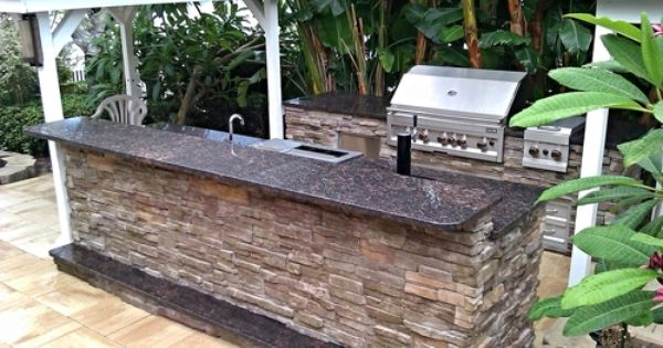 Are Outdoor Kitchens A Good Investment Outdoor Outdoor Living Outdoor Decor