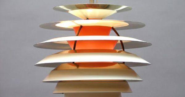 Poul Henningsen Contrast Ceiling Lamp For Louis Poulsen