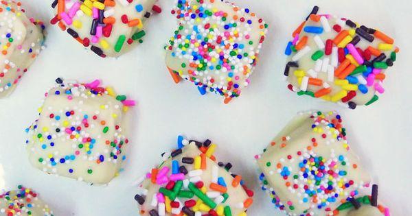 Funfetti Cake bites