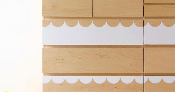 Muebles y objetos diy hechos con muebles de ikea para - Comoda malm ikea ...
