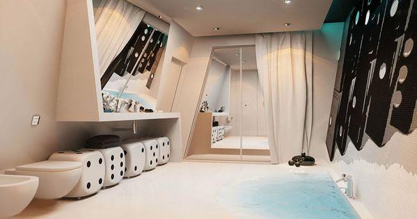 bagno di lusso moderno 07 | bagni di design | pinterest - Bagni Lussuosi Moderni