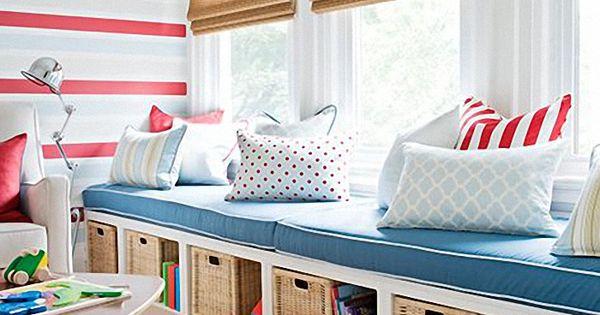Salas de juegos para ninos ideas colores murales for Calcomanias para dormitorios