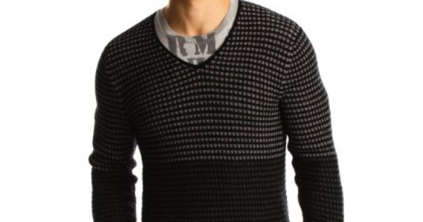 ... Ombre Waffle V-Neck | Men's Fashion | Pinterest | Waffles and Ombre