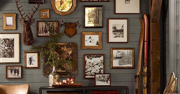 Photo Frame Arrangement Awesome Decor Pinterest