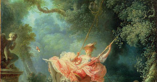 The Swing Jean Honor 233 Fragonard 1767 C E Oil On Canvas