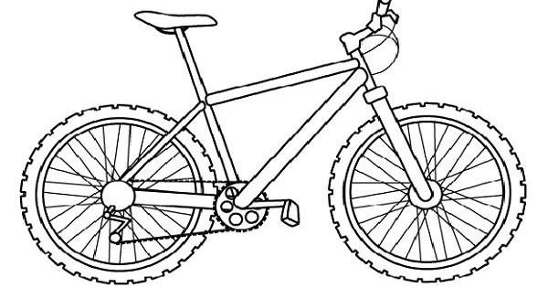 coloring pages of bikes - photo#25