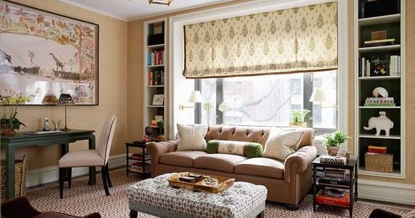 Living Room Design Idea stylish interior design living room ideas lovely furniture ideas for living room with interior design living Wonderful Living Room Design Idea Home Decor Pinterest Ottomans Window And Built Ins