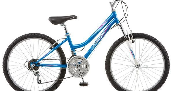 Pacific 24 Inches Girl S Atb Tide Bike Bicycle Blue In 2020