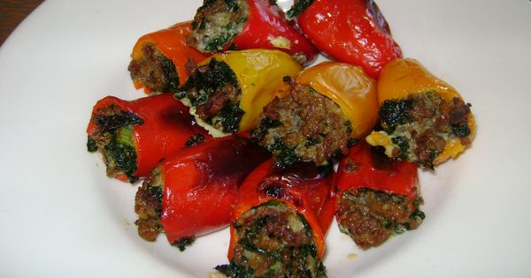 Pepper poppers, Stuffed peppers and Paleo on Pinterest